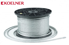 8mm Galvanised Wire Rope Zinc Steel Rope Cable Rigging Price Per Meter FREE P+P