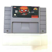 The Amazing Spider-Man SUPER NINTENDO SNES GAME - Tested - Working - Authentic!