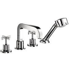 Hansgrohe 39453001 Citterio Cross 2-Handle Deck-Mount Roman Tub Faucet Trim Kit