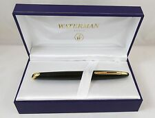 Waterman CARÈNE Black Sea Fountain Pen 18K Gold Nib Cased With Paperwork