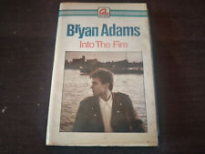 BRYAN ADAMS - Into The Fire CASSETTE TAPE / Made In Indonesia