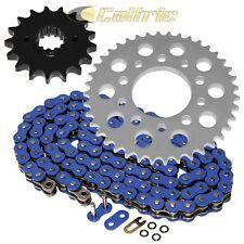 Blue O-Ring Drive Chain & Sprockets Kit For HONDA VF750F CB900 CB900F VF1000R