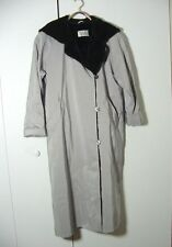 Vtg Bill Blass Signature Womens Faux Fur Lined Button Trench Coat Sz 10