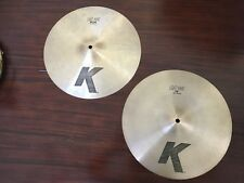 Zildjian K light hi hat cymbals 14 inch
