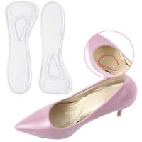 3/4 Länge Transparent Gel Soft Anti-Rutsch-Kissen Einlegesohlen für High Heels