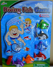 Underwater Diving Fish Game Water Toy Swim Age 6+ Weighted Shark Fish