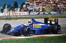 Christian Danner SIGNED 12x8 , F1 Rial-Cosworth ARC2 , Brazilian GP Rio 1989