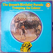 THE QUEEN'S BIRTHDAY PARADE TROOPING THE COLOUR-SEALED1974LP