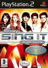 22276 // SING IT POP HITS - PLAYSTATION 2 30 TITRES NEUF SOUS BLISTER