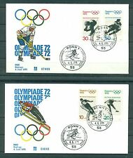 Allemagne - Germany 1971 - Michel n.680/83 - Jeux olympiques d'hiver - Sapporo