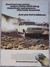1969 Vauxhall Victor 1600 Original advert