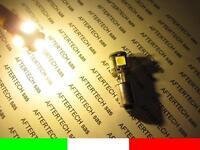 2 LAMPADINE 5 LED NO ERRORE BIANCO CALDO BA9S T4W QZW