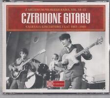CZERWONE GITARY NAGRANIA KONCERTOWE 1967-1980 4CD ARCHIWUM POLSKIEGO RADIA 2008