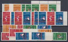 """BRD/Bund - Alle 14 Zusammendrucke """"Olympiade 72"""" (= W30 - S54 + SZ 1-2 a+b)"""
