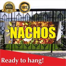 Nachos Banner Vinyl / Mesh Banner Sign Many Sizes Flag Mexican Food