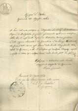 Certificato della Scuola Magistrale Maschile di Ravenna 1864