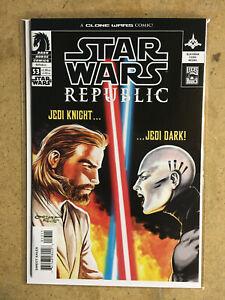 Star Wars #53 (Republic Clone War ASAJJ VENTRESS KENOBI DARK HORSE) VF+/NM