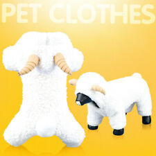 Dog Cartoon Sheep Winter Warm Hoodie Jumpsuit Jacket Halloween Xmas Costume