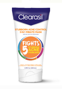 Clearasil Stubborn Acne Control 5in1 Exfoliating Wash Salicylic Acid