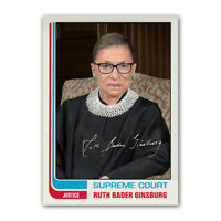 Ruth Bader Ginsburg RBG 1980s Style Supreme Court Collectible Trading Card