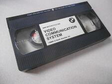 BMW Motorcycle ABS VHS Cassette Video Tape Video Communication System #U
