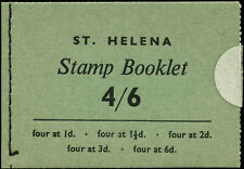 Saint Helena Stanley Gibbons SB1 Complete Booklet SG #176/9, 181 in Block of 4's
