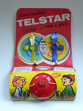 Vintage Telstar CAP-I-COPTER Beany & Cecil Copter Message Hat MOC 1960's Italy