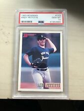 1993 BOWMAN ANDY PETTITTE #103 PSA 10 GEM MINT YANKEES WORLD SERIES HOF?