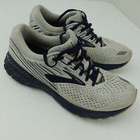 Brooks Adrenaline GTS 19 Running Men's Shoes Size 10.5 Grey Blue 1102941D190