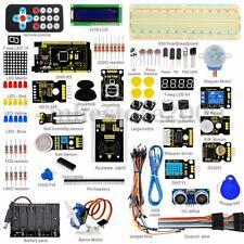 Mega 2560 Starter Learning Kits For Arduino 1602 LCD RFID Relay Motor Buzzer+PDF