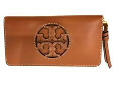 Tory Burch 56808 Miller Zip CONTINENTAL Wallet Aged Carmello