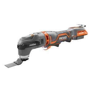New Ridgid 18-Volt OCTANE Cordless Brushless JobMax Multi-Tool w/ Tool-Free Head