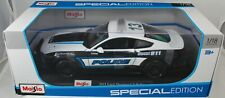 2018 Maisto 1/18 ~2015 Ford Mustang GT-Police DIECAST~B&W~SPECIAL EDITION~NIB