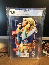 Final Crisis #3 Supergirl Cover CGC 9.8 - DC 2008 - JG Jones