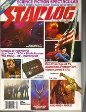 STARLOG Magazine 7/82 SUPERMAN STAR TREK TRON BLADE RUNNER THE THING