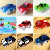 LED Flashing Lights Electronics Special Car Toys Magic Track Kids Children Gift