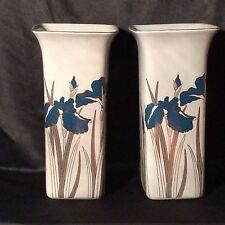 """Royal Iris Otagiri Japan Vase just over 8"""" tall,"""