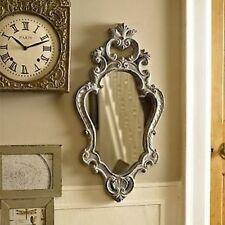 Specchi grigio in legno per la decorazione della casa