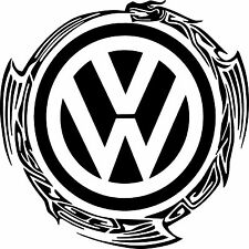 """17"""" Extra Large VW Decal Stickers X2 Transporter T5 T4 T6 Camper DUB"""