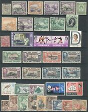 """GHANA & """"C - G"""" BRITISH COLONIES:  Collection of Mint & Used to @1970"""