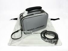 ON HAND BNEW AUTH Marc Jacobs The Mini Box Bag in Drizzle Grey