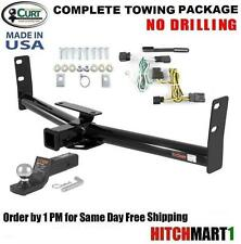 "FITS 2010-2017 GMC TERRAIN, CLASS 3 CURT TRAILER HITCH PACKAGE 2"" TOW RECEIVER"
