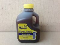 Sweet Squeeze Wildflower Florida Honey Raw Unfiltered 48 Oz 3lbs