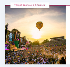 Tomorrowland 2020 2 tickets ( 2X ) W2: Magical Friday Pass