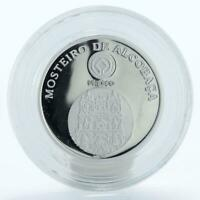 Portugal 5 euro Monastery of Alcobaca proof silver coin 2006