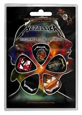 Metallica Hardwired Puppets Guitar Pick 5 Pack Official Plectrum Picks Set New