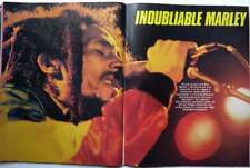 BOB MARLEY => 4 PAGES 1981 FRENCH CLIPPING (FREE Shipping