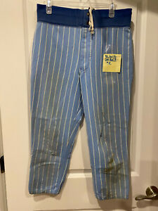 Chicago Cubs Vintage Game Used Powder Blue Pants - 1981 Scot Thompson