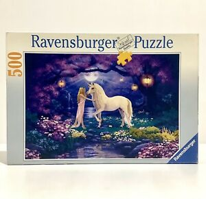 2006 Ravensburger Jigsaw Puzzle No. 145171 - Garden Of Dreams 500 Pieces Fantasy