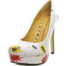 Zapatos de tacón de mujer Laundry de tacón alto (más que 7,5 cm) de color principal blanco